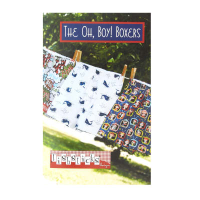 Fishsticks Oh Boy Boxers 2-14  Pattern