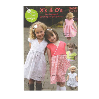 Olive Ann Designs X's & O's Dress Pattern
