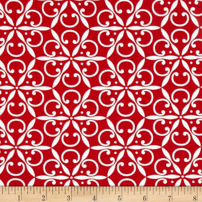Jet Setter Medallion Red