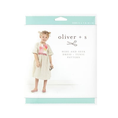 Oliver + S Hide-And-Seek Dress + Tunic Pattern Size 5-12