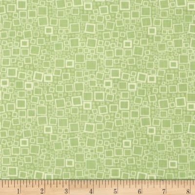 Poppy Panache Squares & Dots Light Olive