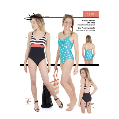 Jalie One-Piece Swimsuit Pattern