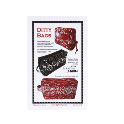 By Annie Ditty Bags Pattern