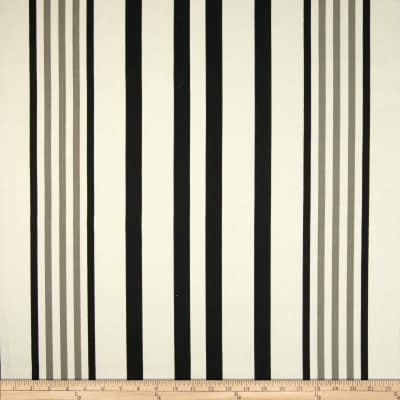 P Kaufmann Indoor/Outdoor Hugo Stripe Ebony