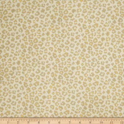Jaclyn Smith 02100 Animal Print Blend Lemon Zest