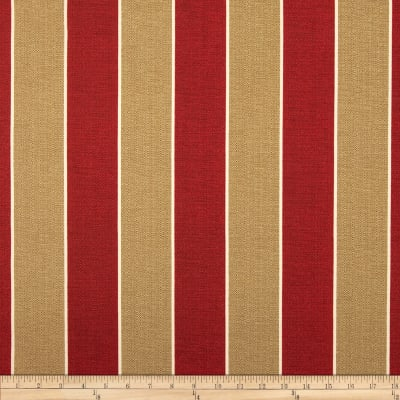 Richloom Solarium Outdoor Wickenburg Stripe Cherry