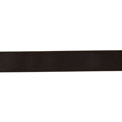 "May Arts 3/4"" Grosgrain Ribbon Spool Black"