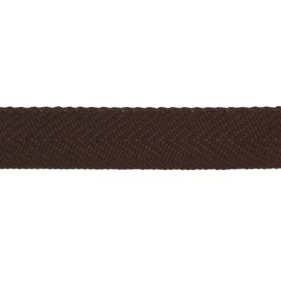 "May Arts 3/4"" Twill Ribbon Spool Brown"