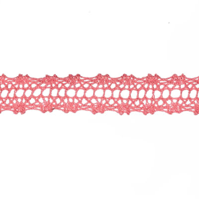 "May Arts 5/8"" Crochet Lace Ribbon Spool Watermelon"