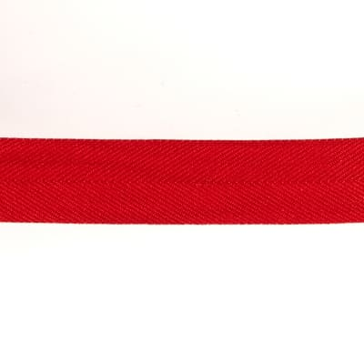 "May Arts 1 1/2"" Twill Ribbon Spool Red"