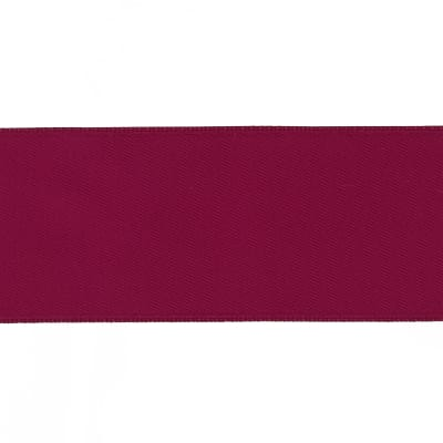 "May Arts 1 1/2""  Double Sided Satin Ribbon Spool Burgundy"