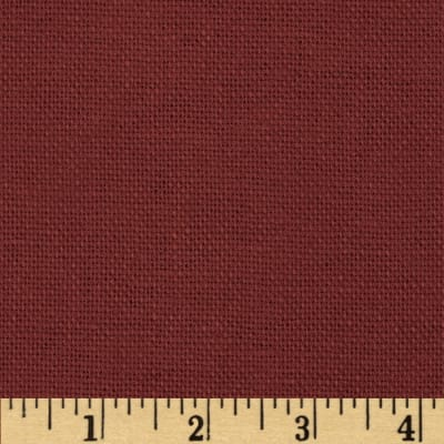 Jaclyn Smith Winthrop Linen Blend Scarlet