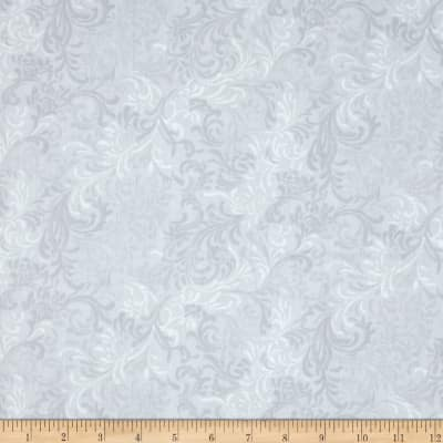 "Essentials 108"" Wide Quilt Back Flourish Grey"