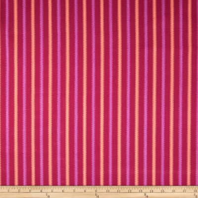 Home Accents Tangiers Stripe Raspberry