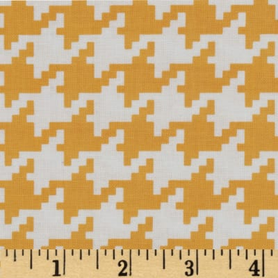 Michael Miller Everyday Houndstooth Mango