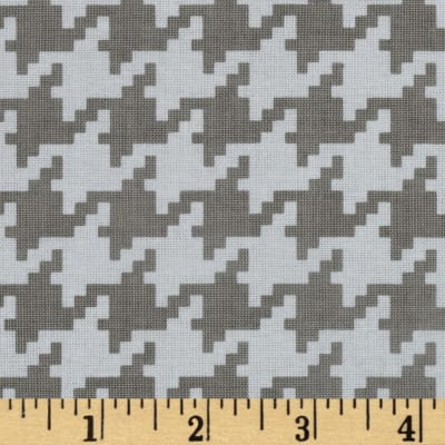 Michael Miller Everyday Houndstooth Stone