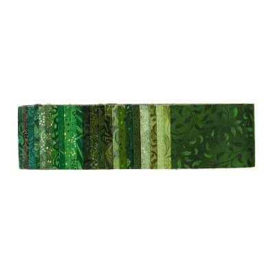 "Essential Gems Emerald Forest 2.5"" Strips"