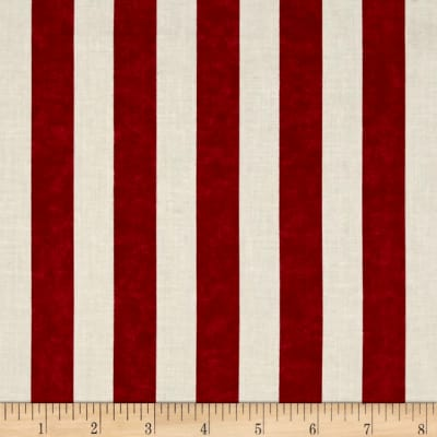 Timeless Treasures Stripe Red