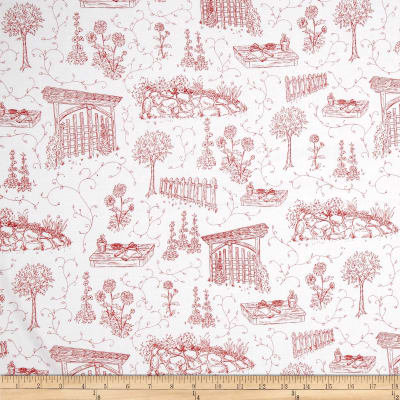 Park Drive Toile Red