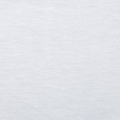 Stretch Rayon Jersey Knit White