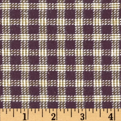 Primo Plaids V Flannel Small Plaid Taupe