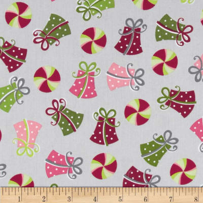 Kimberbell's Merry & Bright Tossed Presents Grey