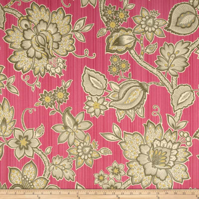 Waverly Floral Flair Twill Passion