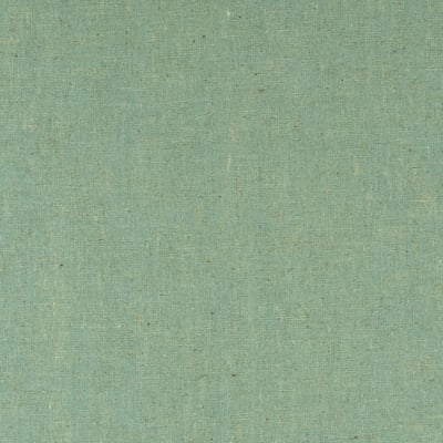 Contempo Hand Made Faux Linen Solid Light Turquoise Green