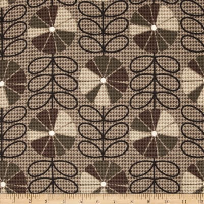Kanvas Boy Meets Girl Houndstooth Poppy Taupe