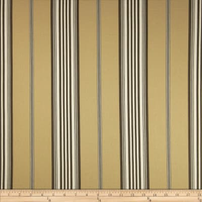 Morgan Stripe Twill Khaki/Brown