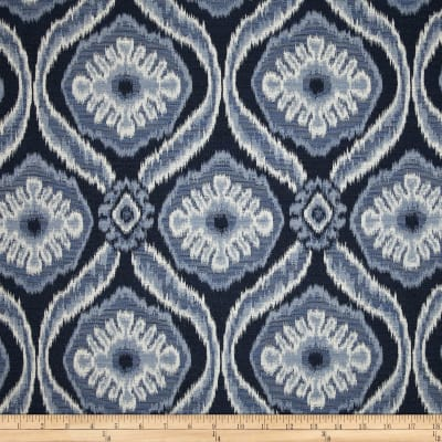 Duralee Home Mecca Upholstery Jacquard Navy