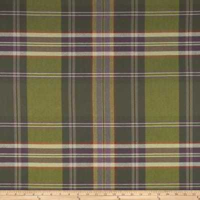 P Kaufmann Sticky Wicket Woven Twill Tartan