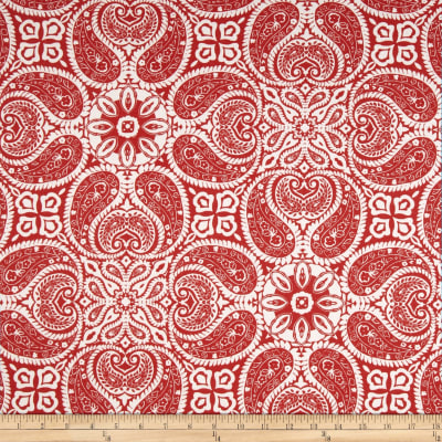 Magnolia Home Fashions Tibi Cayenne Red