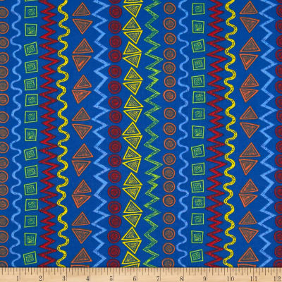 Child's Play Graphic Stripe Multi/Royal