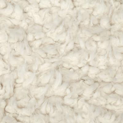Shannon Minky Luxe Cuddle Llama Ivory
