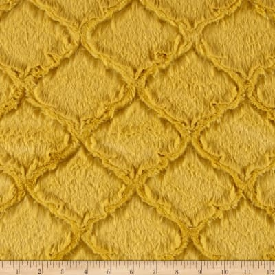 Shannon Minky Luxe Cuddle Lattice Antique