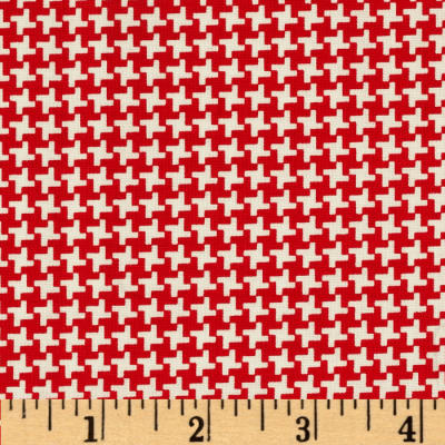 Penny Rose Hope Chest Hope Houndstooth Red