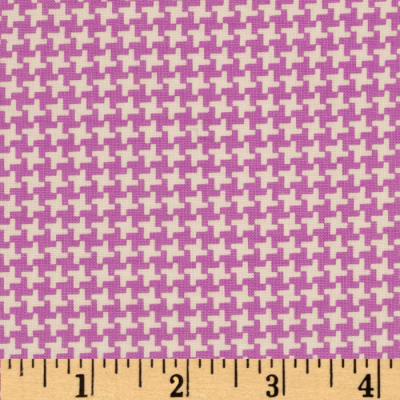 Penny Rose Hope Chest Hope Houndstooth Purple