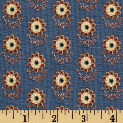 Penny Rose Civil War Times Daisy Blue