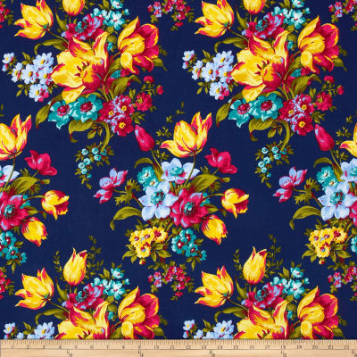 Penny Rose Olivia Large Floral Blue