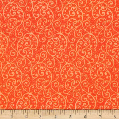 Penny Rose Olivia Scroll Orange