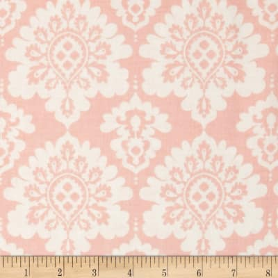 Riley Blake Lost and Found Love Damask Pink