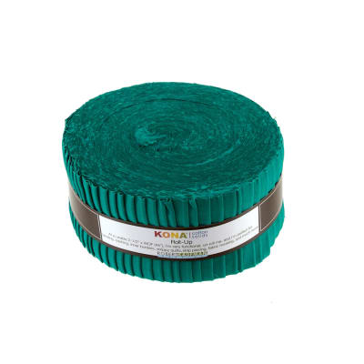 "Kona Cotton Bluegrass 2.5"" Roll Ups"