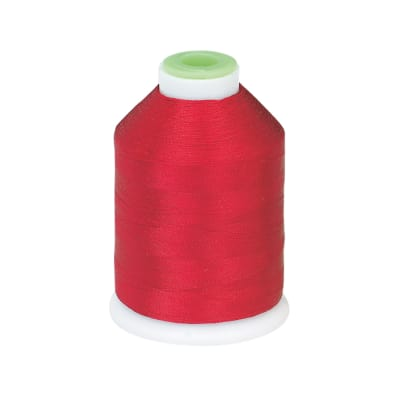 Coats & Clark Trilobal Embroidery Thread 1100 YD Scarlet