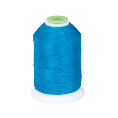 Coats & Clark Trilobal Embroidery Thread 1100 YD Radiant Blue