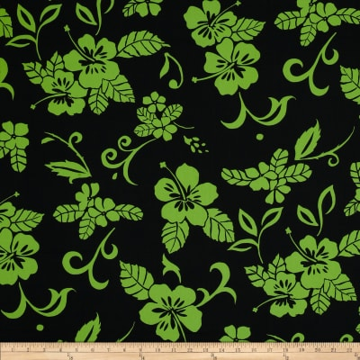 Hoffman Tropicals Reverse Pareau Lime