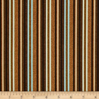 Caffe Latte Coffee Stripe Brown