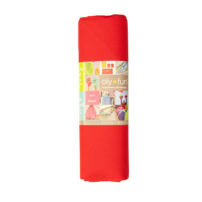 OLYFUN Multi Purpose Craft Fabric Cherry Pop