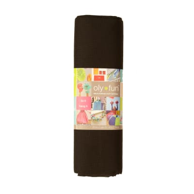 OLYFUN Multi Purpose Craft Fabric Jet Black