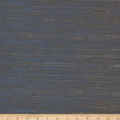 Robert Allen Promo Grooved View Extra Wide Sheer Lapis